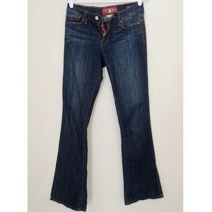 Lucky Brand Midrise Sofia Bootcut Dark Wash Jeans